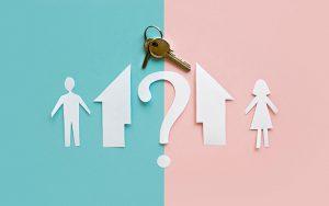 חלוקת רכוש בגירושין עם ילדים